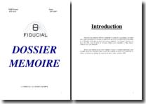 Rapport de stage au cabinet d'expertise comptable « La Fiducial »