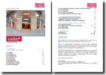 Progiciel de Gestion Intégré: système d'information commerciale dans le magasin de prêt-à-porter Célio