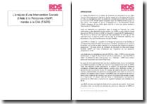 L'analyse d'une Intervention Sociale d'Aide à la Personne (ISAP) menée à la Cité (FADS)