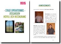 Rapport de stage dans le secteur de l'hôtellerie-restauration