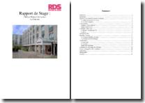 Rapport de stage en Centre de Médecine Gériatrique (Belgique)