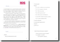 Rapport de stage au sein de la Caisse de dépôt et de gestion (CDG)
