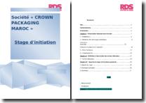 Stage effectué à Crown Packaging Maroc