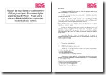 Rapport de stage dans un Établissement d'Hébergement pour Personnes Âgées Dépendantes (EHPAD) - Projet tutoré : une enquête de satisfaction auprès des résidents et des familles