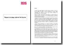 Rapport de stage au sein de l'équipe Fusion-Acquisitions du cabinet Veil Jourde