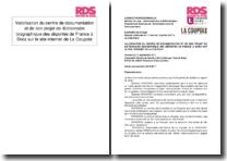 Valorisation du centre de documentation et de son projet de dictionnaire biographique des déportés de France à Dora sur le site internet de La Coupole