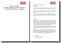 Rapport de stage : conseiller clientèle à distance chez BNP Paribas Personal Finance - Cetelem
