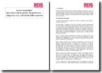 La communication des acteurs de la gestion de patrimoine : diagnostic d'un cabinet de taille moyenne