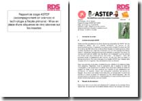 Rapport de stage ASTEP (accompagnement en sciences et technologie à l'école primaire) - Mise en place d'une séquence de cinq séances sur les insectes
