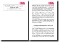 L'Institut Bruckhof et les partenariats - Rapport de stage en tant que travailleur social
